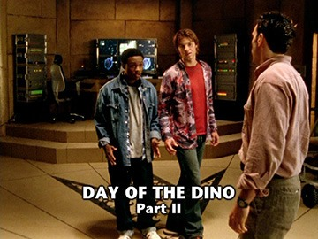"Title Card for ""Day of the Dino Part II""."