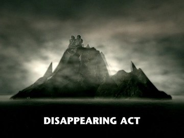 "Title Card for ""Disappearing Act""."