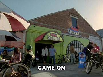"Title Card for ""Game On""."