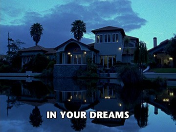 "Title Card for ""In Your Dreams""."