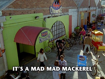 "Episode Title Card for ""It's a Mad Mad Mackerel""."
