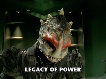 "Title Card for ""Legacy of Power""."