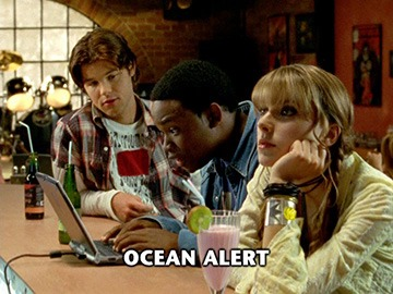 "Episode Title Card for ""Ocean Alert""."