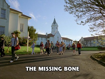 "Episode Title Card for ""The Missing Bone"""