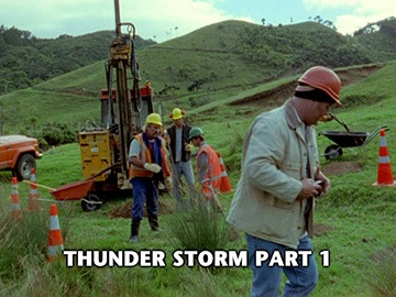 "Episode Title Card for ""Thunder Storm Part 1""."