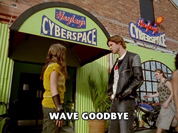 "Episode Title Card for ""Wave Goodbye"""