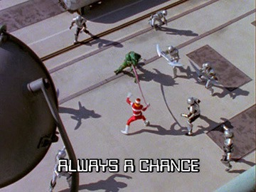 "Title Card for ""Always a Chance""."