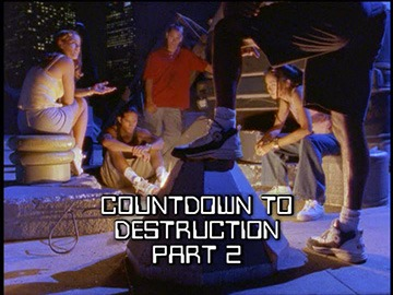 "Title Card for ""Countdown to Destruction Part 2""."