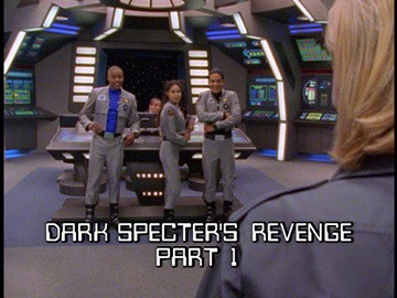 "Title Card for ""Dark Specter's Revenge Part 1""."