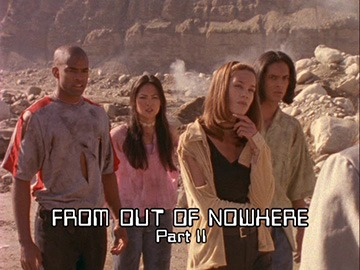 "Title Card for ""From Out of Nowhere Part II""."