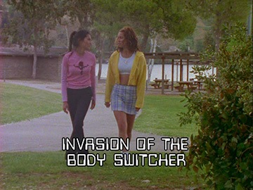 "Episode Title Card for ""Invasion of the Body Switcher"""