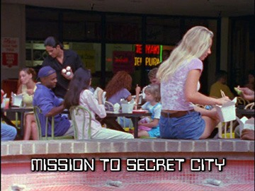 "Episode Title Card for ""Mission to Secret City""."