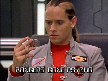 "Title Card for ""Rangers Gone Psycho""."