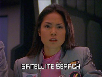 "Title Card for ""Satellite Search""."