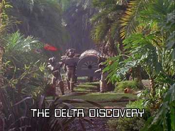 "Title Card for ""The Delta Discovery""."