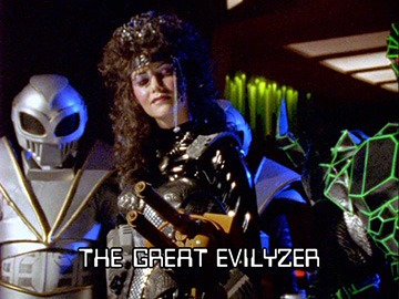 "Episode Title Card for ""The Great Evilyzer"""