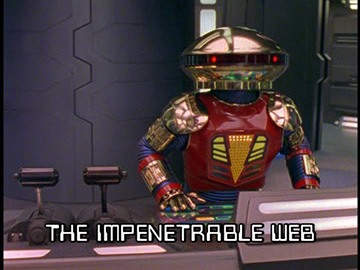 "Title Card for ""The Impenetrable Web""."