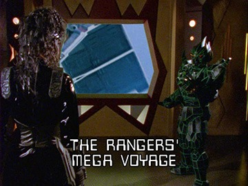 "Title Card for ""The Rangers' Mega Voyage""."