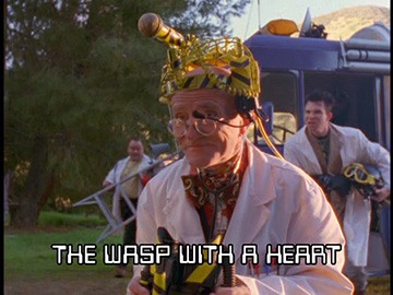 "Title Card for ""The Wasp with a Heart""."
