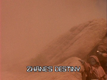 "Title Card for ""Zhane's Destiny""."