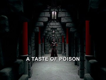 "Episode Title Card for ""A Taste of Poison"""