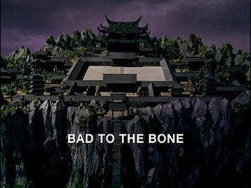"Title Card for ""Bad to the Bone""."