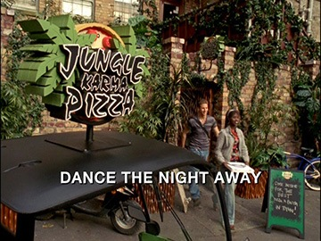 "Episode Title Card for ""Dance the Night Away""."