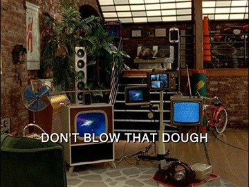 "Title Card for ""Don't Blow that Dough""."