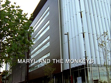 "Episode Title Card for ""Maryl and the Monkeys""."