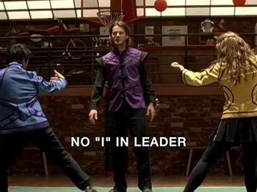"Title Card for ""No ""I"" in Leader""."