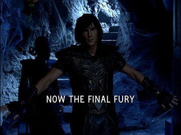 "Title Card for ""Now the Final Fury""."