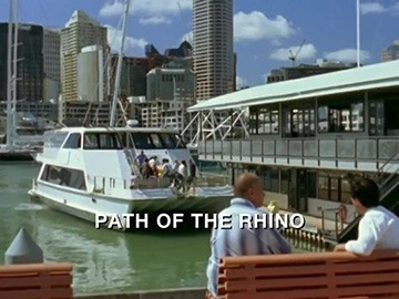 "Episode Title Card for ""Path of the Rhino"""