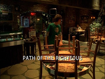 "Episode Title Card for ""Path of the Righteous"""