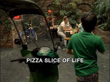 "Episode Title Card for ""Pizza Slice of Life"""