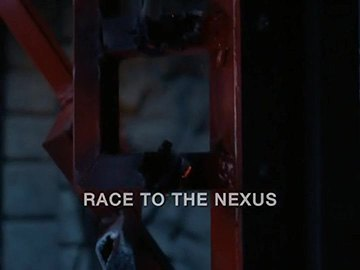 "Episode Title Card for ""Race to the Nexus"""