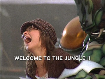 "Episode Title Card for ""Welcome to the Jungle II"""