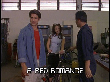 "Title Card for ""A Red Romance""."
