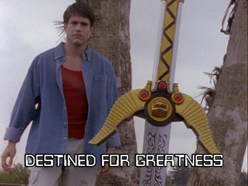 "Title Card for ""Destined for Greatness""."