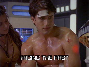 "Episode Title Card for ""Facing the Past"""