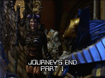"Episode Title Card for ""Journey's End Part 1"""