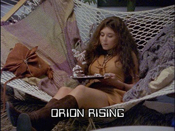 "Title Card for ""Orion Rising""."