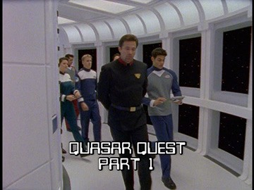 "Episode Title Card for ""Quasar Quest Part 1"""