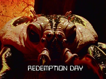 "Title Card for ""Redemption Day""."
