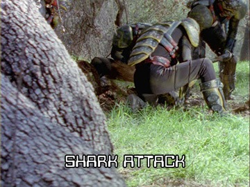 "Episode Title Card for ""Shark Attack"""