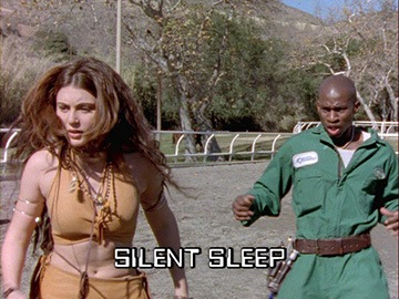 "Title Card for ""Silent Sleep""."