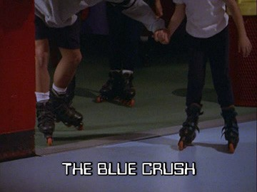 "Title Card for ""The Blue Crush""."