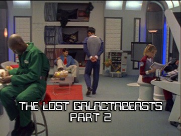 "Title Card for ""The Lost Galactabeasts Part 2""."