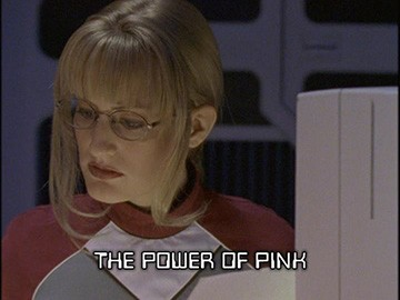 "Title Card for ""The Power of Pink""."