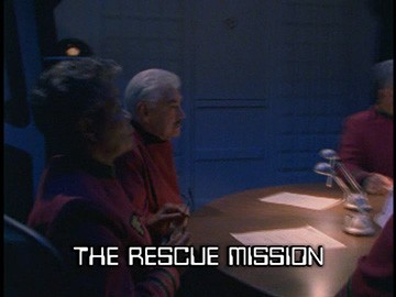"Title Card for ""The Rescue Mission""."