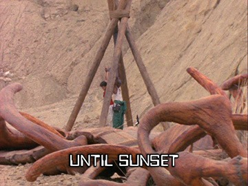 "Title Card for ""Until Sunset""."